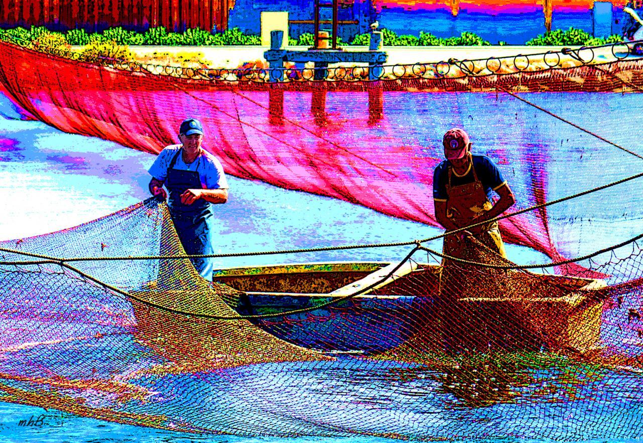 Pêche au Calen