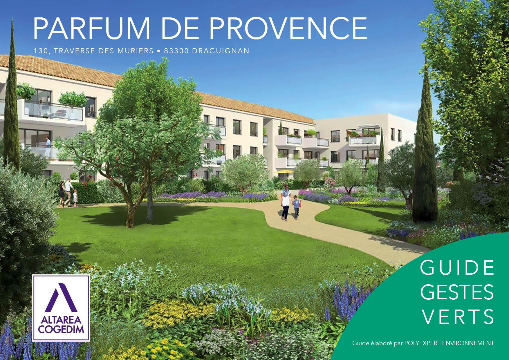 Guide Gestes Verts Parfum de Provence